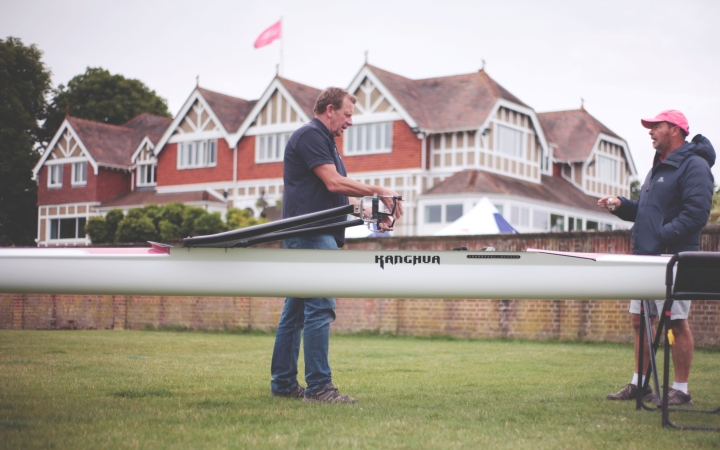 Leander Club takes delivery of new, high-performance Kanghua KX boats